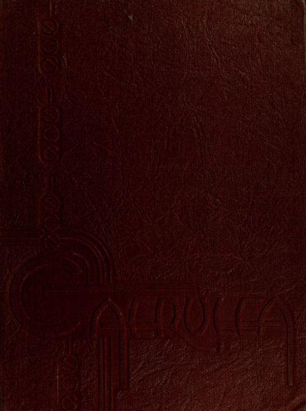 1936 Long Beach Polytechnic High School Yearbook Cover