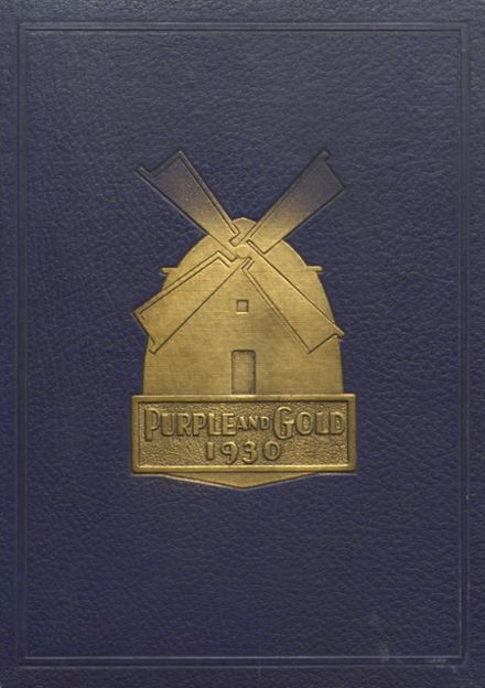 1930 South Haven L.C. Mohr High School Yearbook Cover