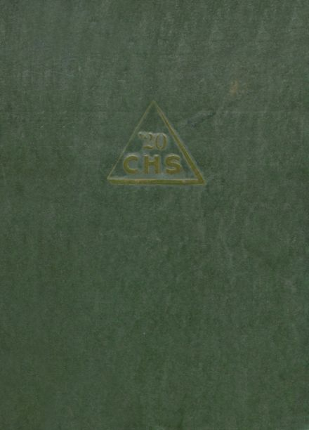 1920 Clarksdale High School Yearbook Cover