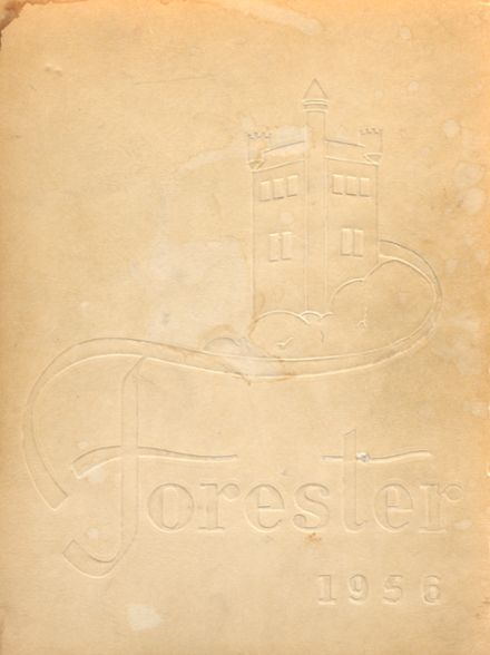 1956 Forest Park High School 406 Yearbook Cover