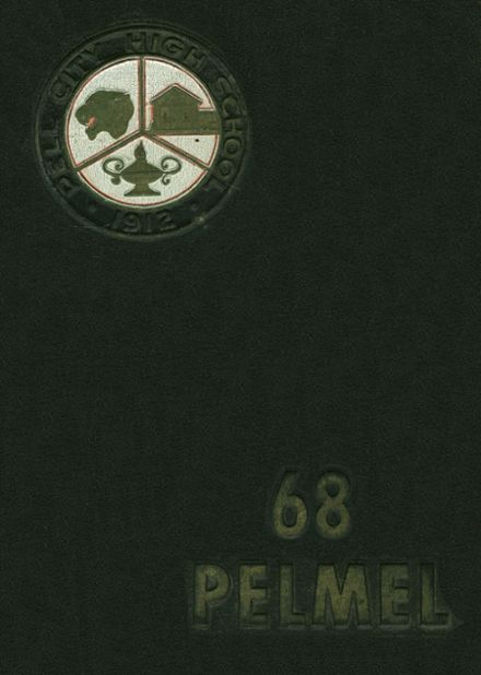 1968 Pell City High School Yearbook Cover