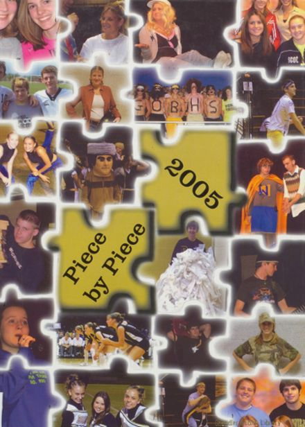 2005 Boonville High School Yearbook Cover