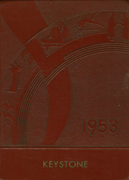 1953 Jackson Township School Yearbook Cover