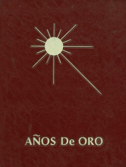 1977 Canyon Del Oro High School Yearbook Cover