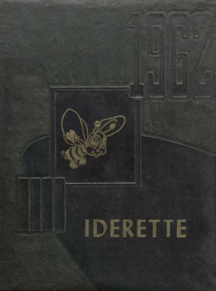 1962 Ider High School Yearbook Cover