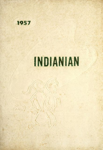 1957 Montpelier Community High School Yearbook Cover