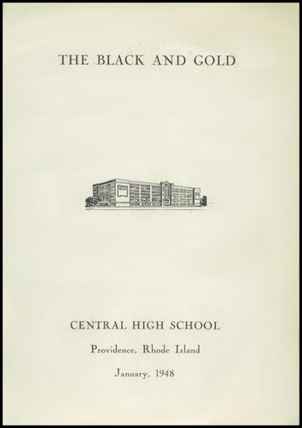 1948 Central High School Yearbook Page 5