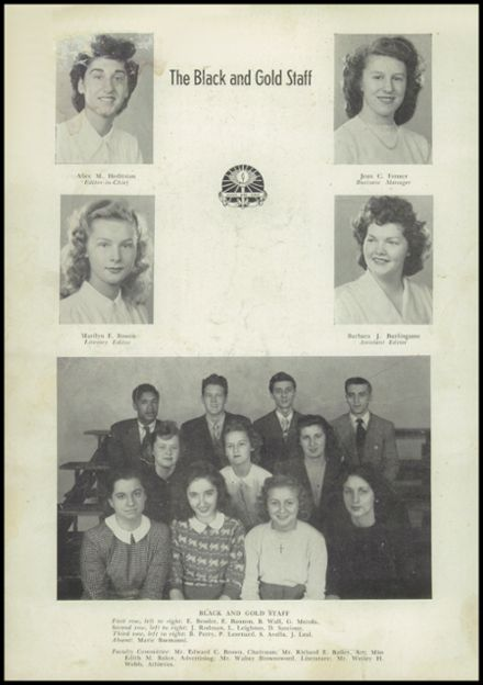 1948 Central High School Yearbook Page 6