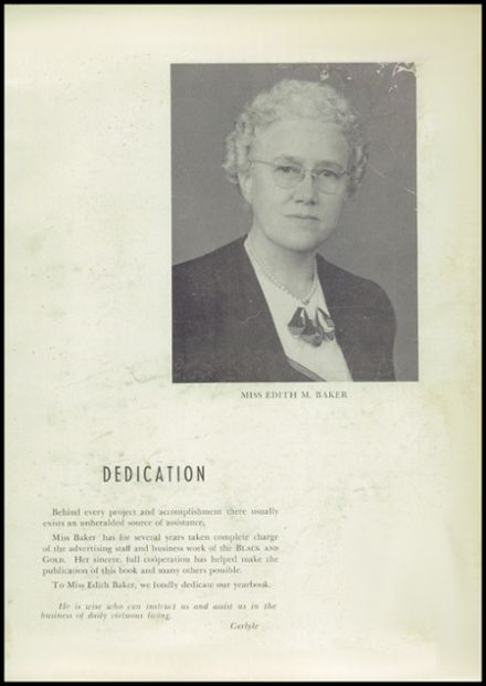 1948 Central High School Yearbook Page 7