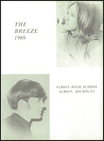 1969 Albion High School Yearbook Page 5