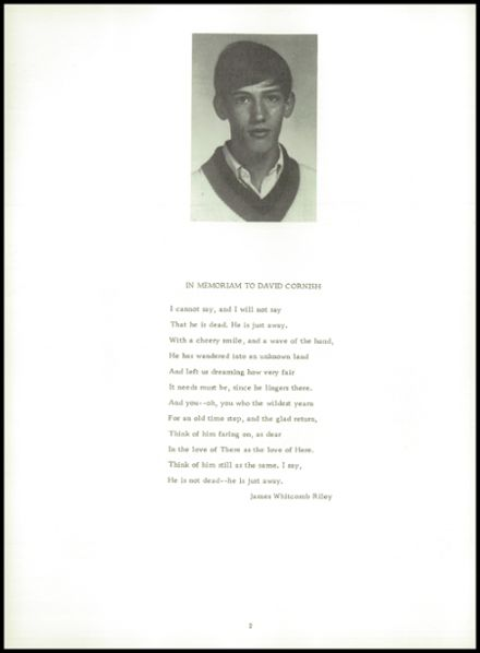 1969 Albion High School Yearbook Page 6