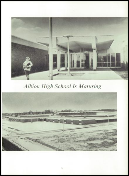 1969 Albion High School Yearbook Page 7