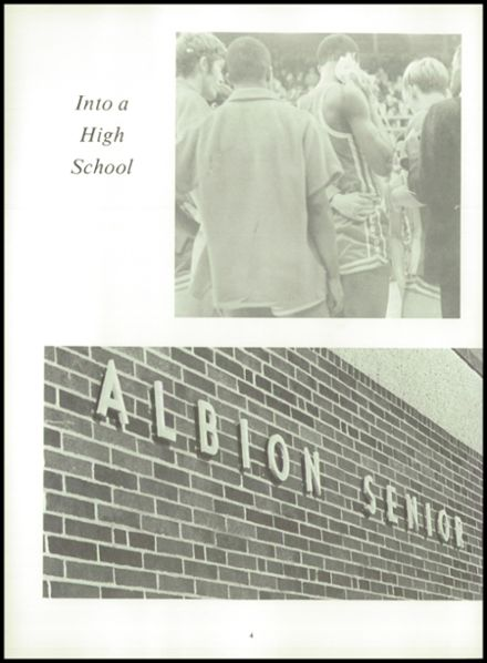 1969 Albion High School Yearbook Page 8