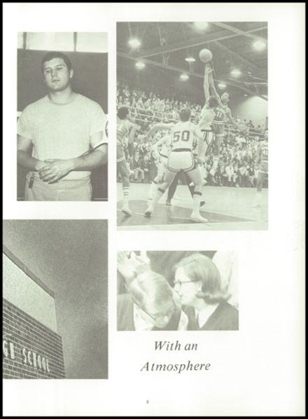 1969 Albion High School Yearbook Page 9