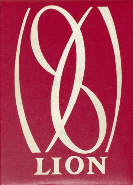1961 Chelmsford High School Yearbook Cover