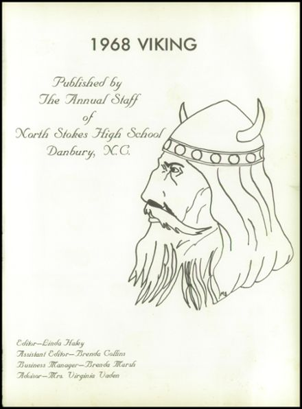 1968 North Stokes High School Yearbook Page 5
