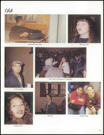 1995 Richmond Hill High School Yearbook Page 9