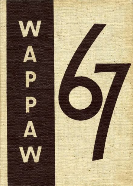 1967 Paw Paw High School Yearbook Cover