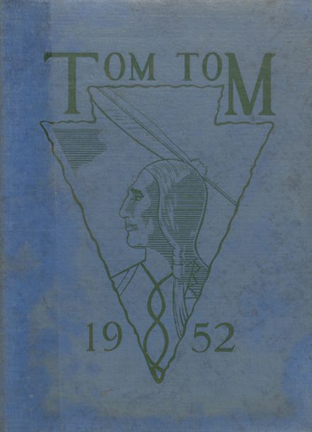 1952 Wicomico High School Yearbook Cover