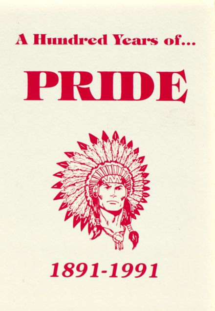 1991 Carlisle High School Yearbook Cover