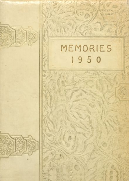 1950 Booneville High School Yearbook Cover