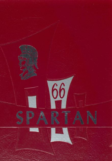1966 Spearfish High School Yearbook Cover