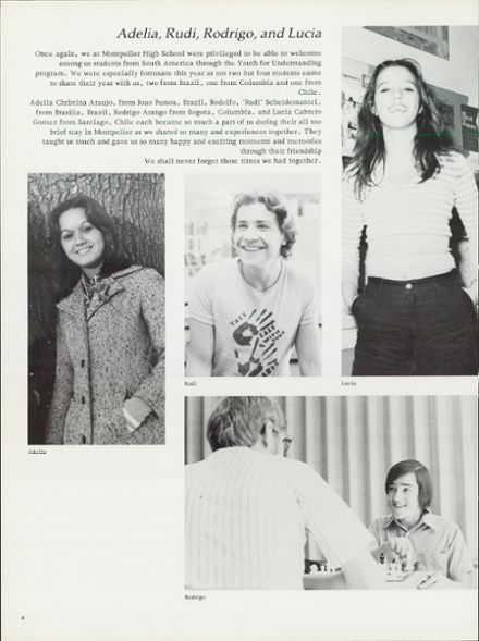 1975 Montpelier High School Yearbook Page 8