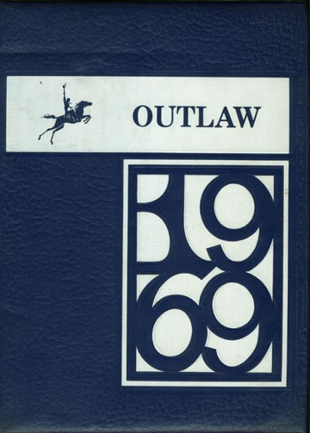 1969 Marlow High School Yearbook Cover