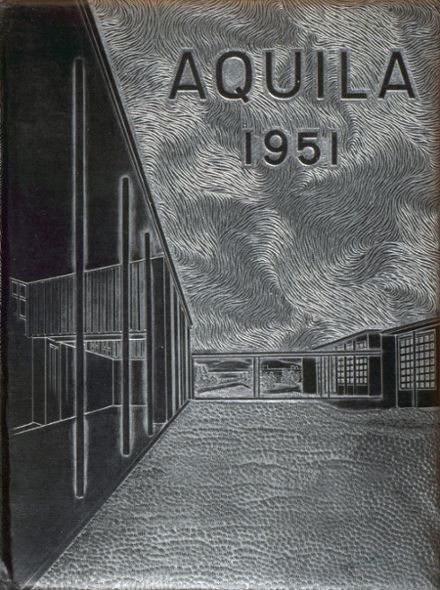 1951 Boulder City High School Yearbook Cover