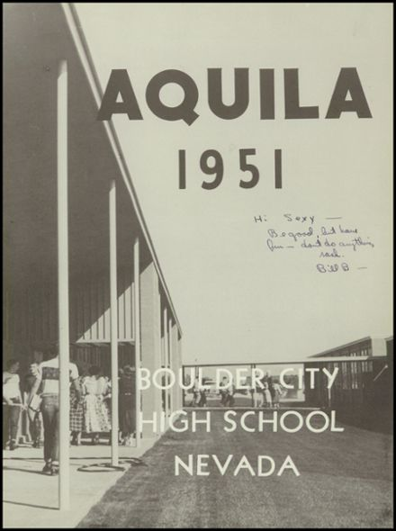 1951 Boulder City High School Yearbook Page 7