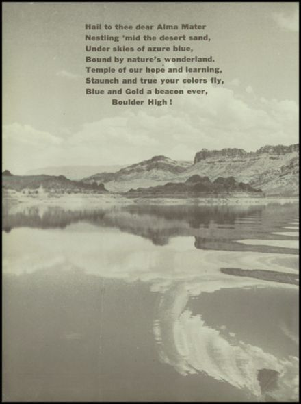 1951 Boulder City High School Yearbook Page 8