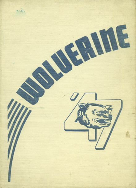 1947 Godwin Heights High School Yearbook Cover