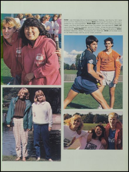 Explore 1988 Penfield High School Yearbook, Penfield NY