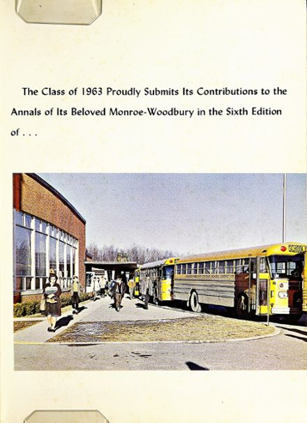 1963 Monroe-Woodbury High School Yearbook Page 5