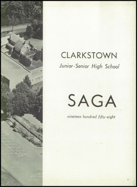 1958 Clarkstown High School Yearbook Page 7