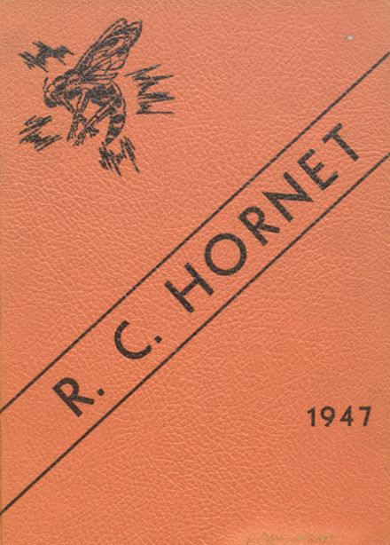 1947 Richland Center High School Yearbook Page 1