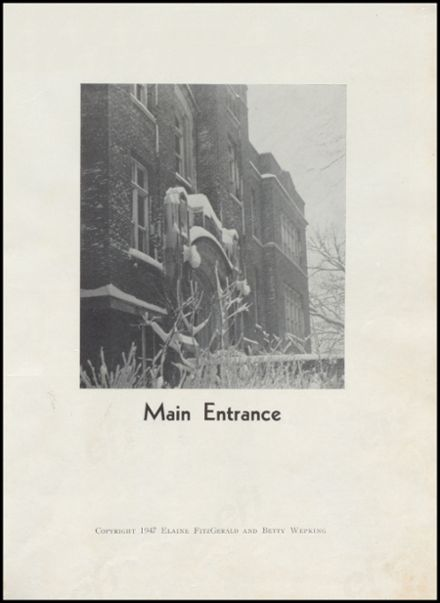 1947 Richland Center High School Yearbook Page 5