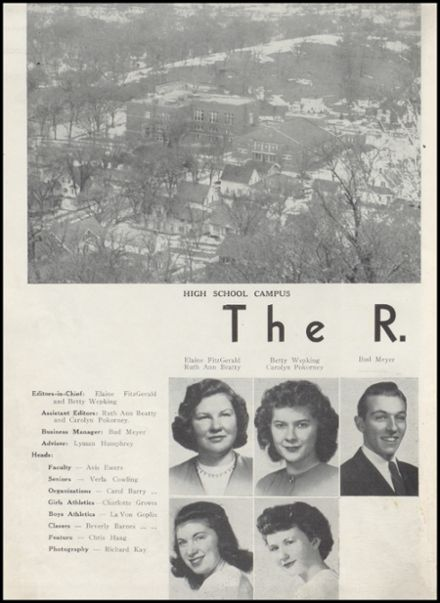 1947 Richland Center High School Yearbook Page 6