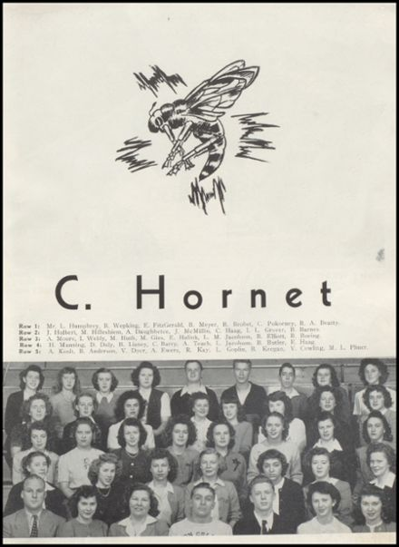 1947 Richland Center High School Yearbook Page 7