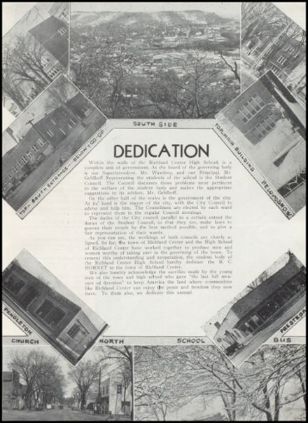 1947 Richland Center High School Yearbook Page 9