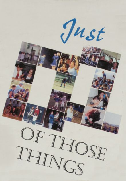 2001 Welch High School Yearbook Cover