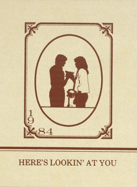 1984 Churchill County High School Yearbook Cover