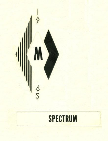 1965 McHenry High School Yearbook Cover