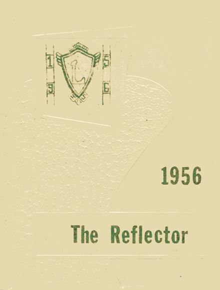 1956 Lancaster High School Yearbook Cover