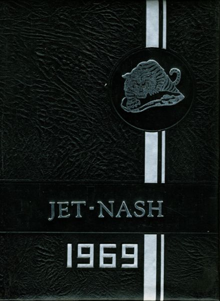 1969 Jet-Nash High School Yearbook Cover