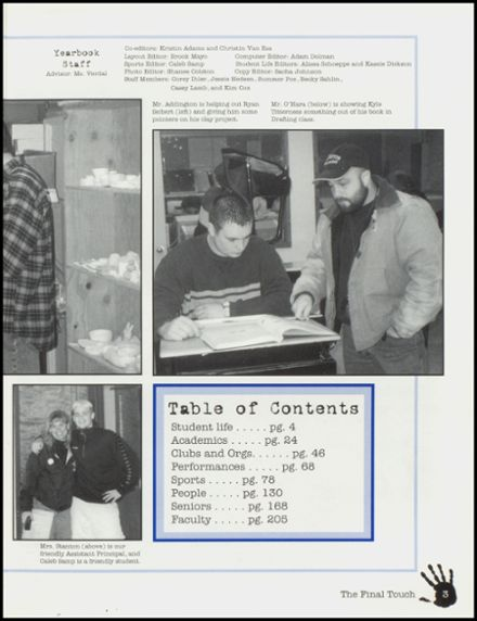 2000 Arlington High School Yearbook Page 7