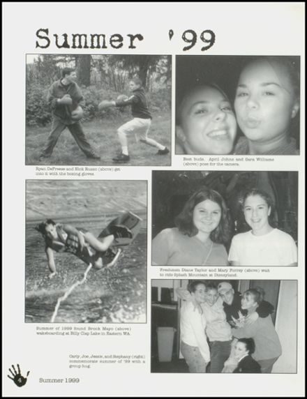 2000 Arlington High School Yearbook Page 8