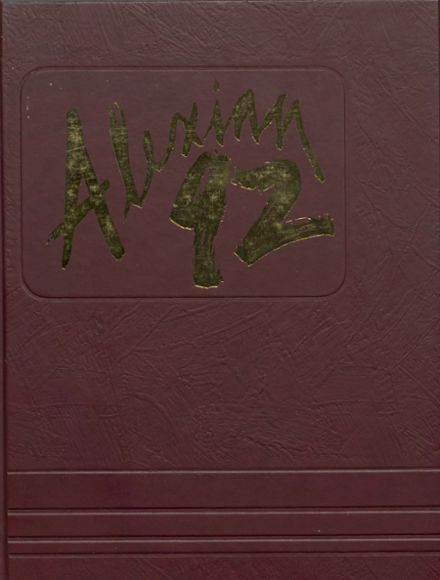 1992 Jefferson High School Yearbook Cover