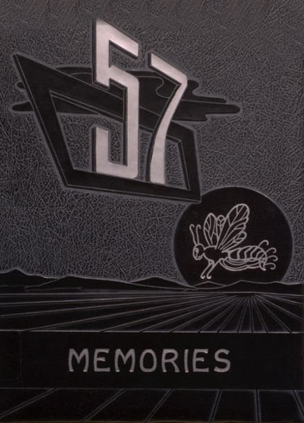 1957 Austinville High School Yearbook Cover