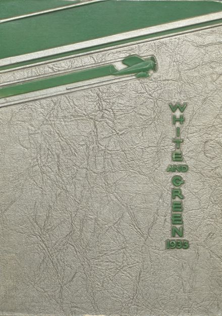 1933 Provo High School Yearbook Cover